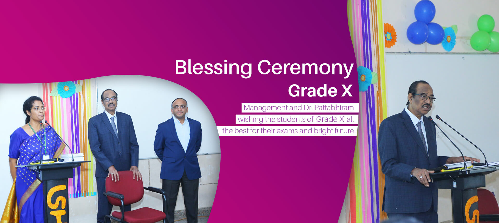blessing ceremony class 10th